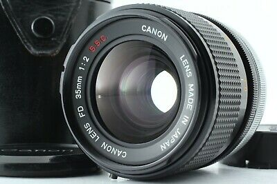 *Exc+++* Canon FD 35mm F/2 S.S.C. FD Mount Wide Angle MF Lens From Japan #268