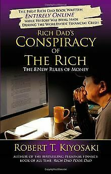 Rich Dad's Conspiracy of the Rich: The 8 New Rul... | Book | condition very good