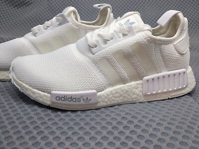 6c83d5eb72596 ADIDAS NMD R1 Boost Runner Mens TRIPLE WHITE Monochrome S79166  us6 38.7 uk5.5 -  48.99