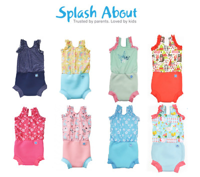 Splash About's Costume with BUILT-IN Swim Nappy BABY TODDLER