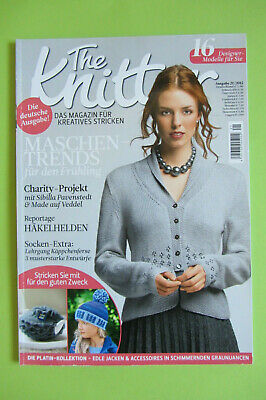 32//2017 ungelesen 1A abs The Knitter  Magazin für Kreatives Stricken Ausg TOP