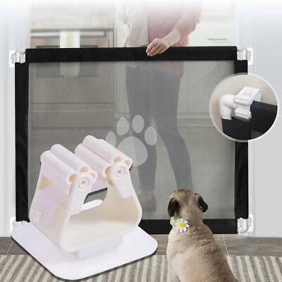 Dog Fence Retractable Indoor Pet Isolating Door Gate Safety Protection Supply