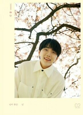 B1A4 SANDEUL [A FINE DAY] 2nd Mini Album CD+UNFOLDED POSTER+PBook+3p Card SEALED