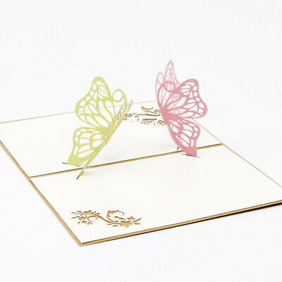 Butterfly Greeting Cards Festival Birthday Party Invitation Business Card BS