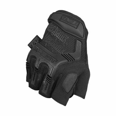 Mechanix Fingerless M-pact Mezza Dito Guanto Tactical Army Paintball Nero