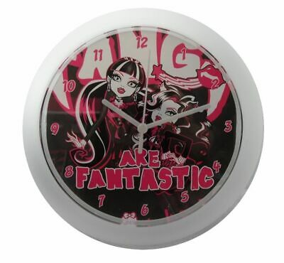 Monster High Girl's 25cm Wall Clock- Fangs