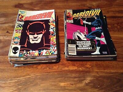 Daredevil Comics job lot Marvel Comics 56 comics
