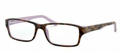 f950994200dc6 AUTHENTIC RAY-BAN RX 5169 5240 Havana Opal Violet Eyeglasses 54mm ...