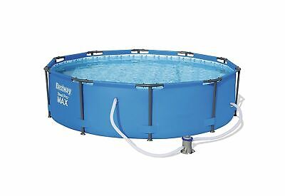 Bestway 10ft Steel Pro MAX Swimming Pool with Filter Pump, 4678 litres, 30 Inch