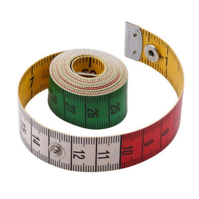 150CM / 60inch Tailor Measure Tape Sewing Gadget Flat Tape Body Measuring Ruler