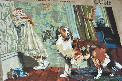 "Completed Penelope Tapestry ""A Special Pleader"""