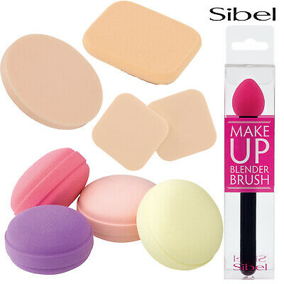 Sibel Reusable Professional LATEX FREE Cosmetic MakeUp Sponges/Applicators/Brush