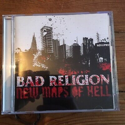 Bad Religion New Maps Of Hell CD 18 Tracks Bonus Japan