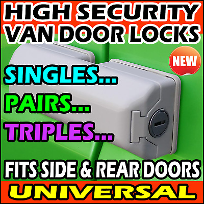 Citroen Nemo Van Security Dead Locks For Rear Door Sliding Side Doors 2008-2020