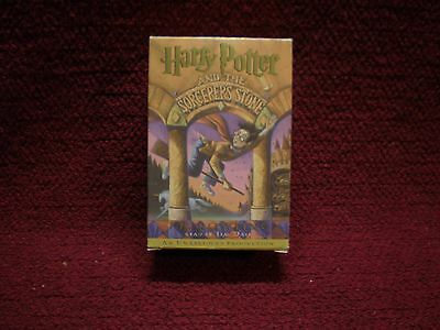 Harry Potter and the Sorcerer's Stone (Book 1) J.K. Rowling Audio Cassette
