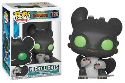 How to train your Dragons 3 - Pop! - Night Lights I BOITE ABIMEE - Funko