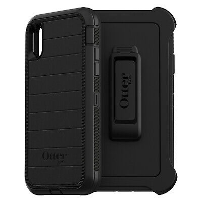 OtterBox Defender Pro Series Rugged Protection Black Case for Apple iPhone XR