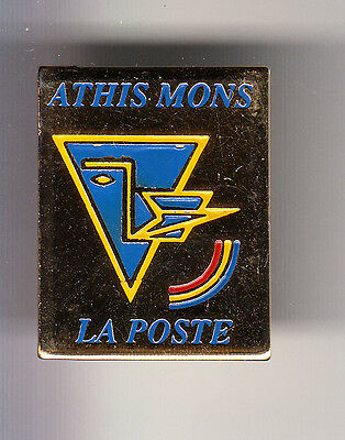 Rare Pins Pin's .. Ptt La Poste France Telecom Art Moderne Athis Mons 91 ~By