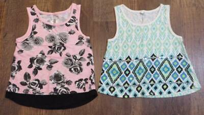 7b81aa0aa9a4c4 Lot of 2 Justice Tank Tops Girls Size 6 Excellent Pre-Owned Condition