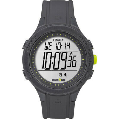 Timex IRONMAN® Essential 30 Unisex Watch - Grey Stopwatch with 30 lap memory