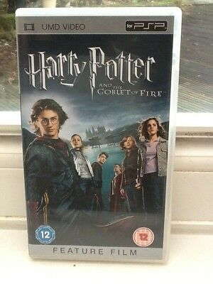 HARRY POTTER AND THE GOBLET OF FIRE : Boxed UMD Film For Sony PSP