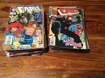 Cable Comics Job lot Marvel Comics X Men 65 comics