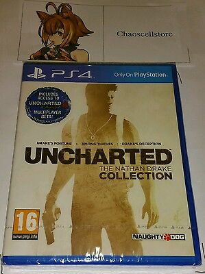 Uncharted The Nathan Drake Collection PS4 New Sealed UK PAL Sony PlayStation 4