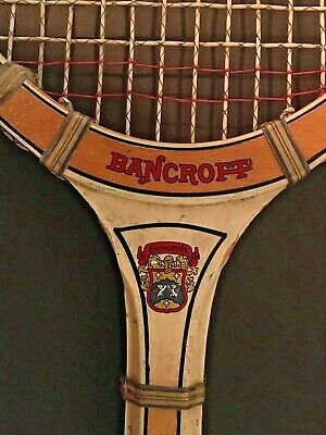 Bancroft Blue Streak Antique Tennis Racquet Racket 4 1/2 L