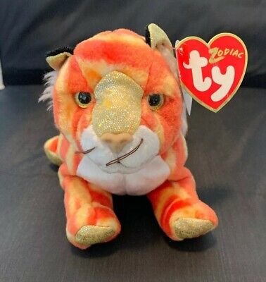 Ty Beanie Baby Tiger the Chinese Zodiac Collection the Tiger 2000 MWMT  Retired 91a45680102c
