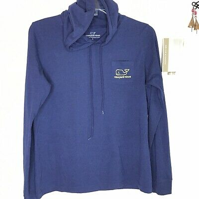 Charitable New Vineyard Vines Xl Maroon Lightweight Cotton Active Whale Hoodie Clothing, Shoes & Accessories