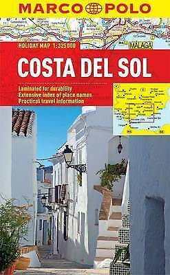 Costa Del Sol Holiday Map - New - Marco Polo - Laminated