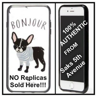 huge discount 06c85 39625 NIB KATE SPADE Bonjour FRENCH BULLDOG Antoine IPhone 6 7 8 Cell Phone Case  Cover