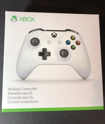 Microsoft XBOX ONE Wireless Controller [ White Edition ] NEW