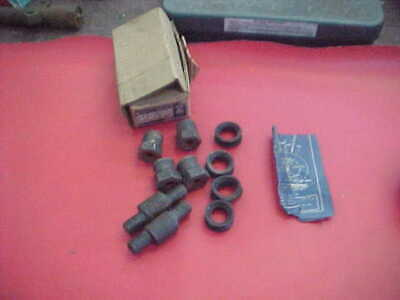 NOS SET 39 40 41 46 47 48 CHEVY Upper Support Control Arm Pivot Pin TRW 10034