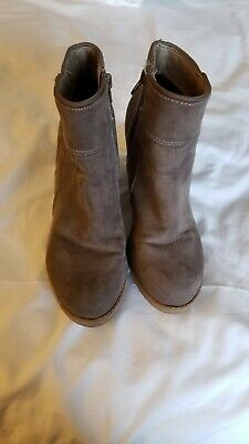 0e08f169d621 CANYON RIVER BLUES Size 6 Wedge Ankle Boots -  13.99