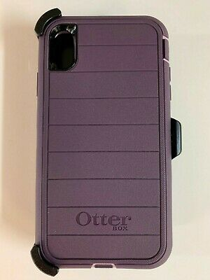 Otterbox Defender Pro Series Case for iPhone XS Max w/ Holster Purple Nebula