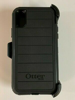 Otterbox Defender Pro Series Case for iPhone X iPhone XS w/ Holster Black