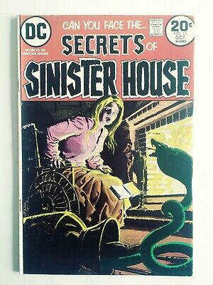 Secrets Of The Sinister House #14 (Oct. 1973, Dc Comics) F/vf