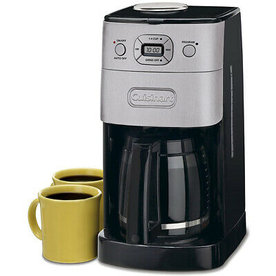Cuisinart Grind and Brew Automatic Coffeemaker, 12-Cup Carafe, Stainless Steel