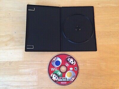 New Super Mario Bros. Wii Nintendo Wii (DISC ONLY) Tested FAST SHIPPING