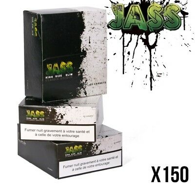 Feuille a Rouler Lot Feuilles Slim Maxi Promo Monster Pack Jass 150 Qualité Ocb