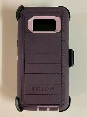 Otterbox Defender Pro Series Case for Samsung Galaxy S8 w/ Holster Purple Nebula