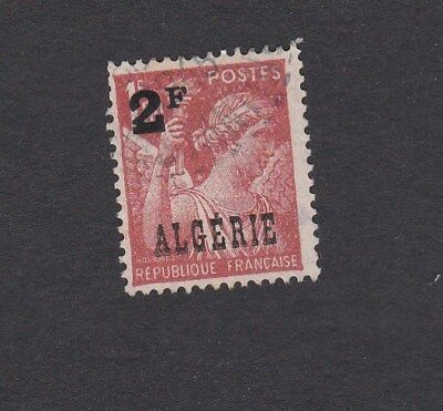 1946 ALGERIA French Territory - Type of France optd ALGERIE and surch 2F -SG#253