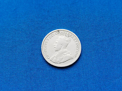 1919 Canada 10 Cents Silver Coin