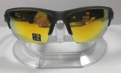 5b2f2c0a9d Oakley Flak 2.0 XL Matte Grey Ink   Fire Iridium Polarized Sunglasses OO9188 -10
