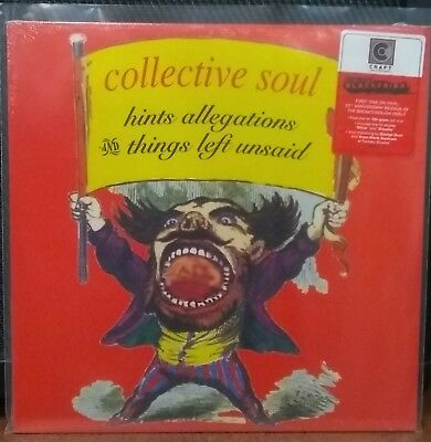 Collective Soul Hints Allegations & Things Left Unsaid 180 gm RED Vinyl RSD LP