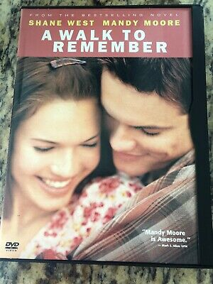 A Walk to Remember (DVD, 2002) - Widescreen - Like New