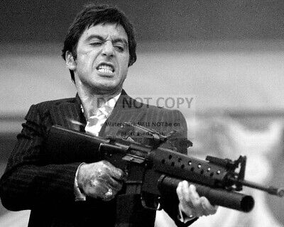 """Al Pacino In The 1983 Film """"scarface"""" - 8X10 Publicity Photo (Fb-050)"""