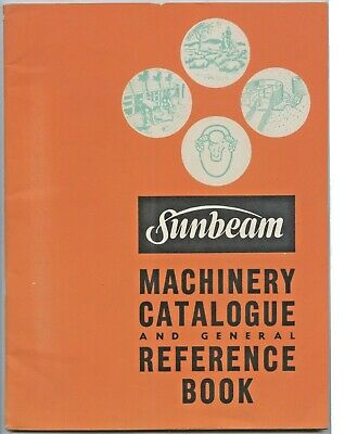 1940's Sunbeam Machinery Catalogue Reference Book Shearing Grinders Sheep X32.
