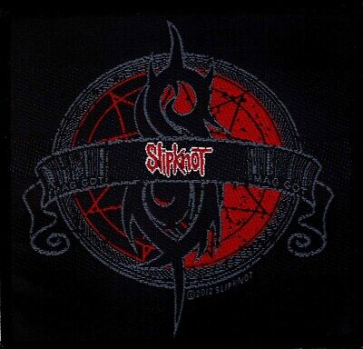 Slipknot Crest Patch Official Heavy Metal New